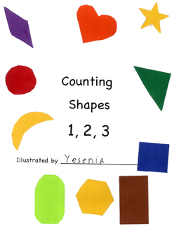 Counting Shapes 1-2-3 - Digital Download
