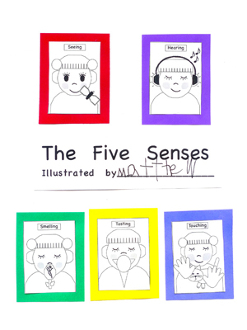 The Five Senses - CD Book